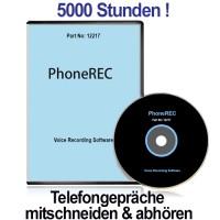 PHONEREC 1.8, Autom. PC-Telefonmittschnitt