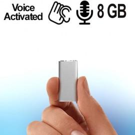 Micro SPY-Recorder,  Audiowanze (VAS) 8 GB