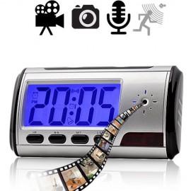 HD SpyCam im Wecker. Bewegungsaktivierte Video &Tonaufnahme.