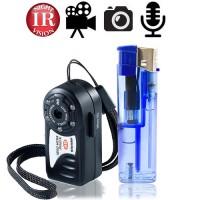 HD Mini-Spionagekamera mit IR-Nachtsicht