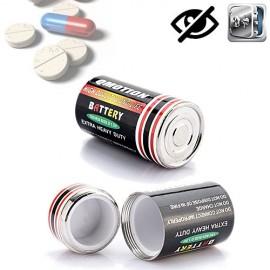 Getarntes Versteck in Batterie