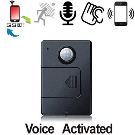 GSMSPY-MOTION GSM-Abhörgerät. Weltweite Raumüberwachung über das globale Mobilfunknetz.