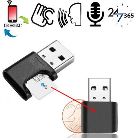 Kleinstes GSM-Abhörgerät der Welt