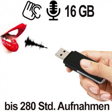 USB Audiorecorder, Neu jetzt 16 GB