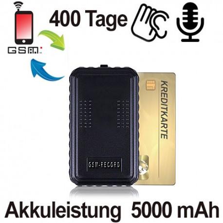 GSM-RECORD Abhörgerät mit Aufnahmemöglichkeit