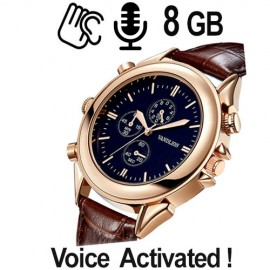 Armbanduhr SPY-Recorder, ( VAS ) 8 GB