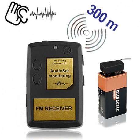 Minisender-Abhörgeräte Set-300