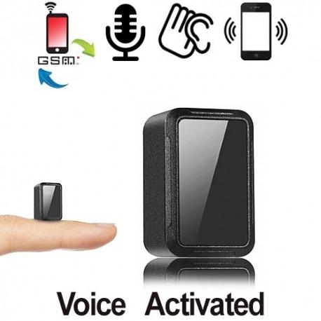 ULTRA-MICRO GSM-Abhörgerät für globale akkustische Raumüberwachung.