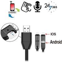 GSM-Abhörgerät im Handyladekabel